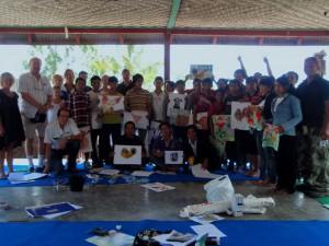EBPP art class at Cegi