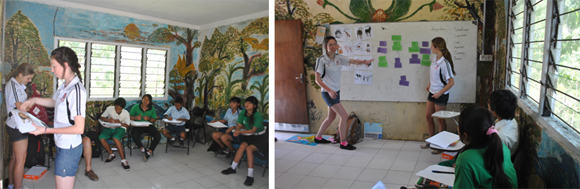 Mt Barker students take the lead in running classroom activities.
