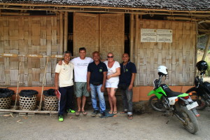 From left to right: Ketut, Alan, Komang, Maryanne and Ardika.